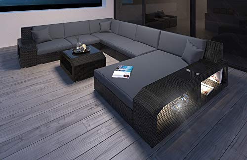 Modernes Rattan Sofa Matera als Designer U Form...