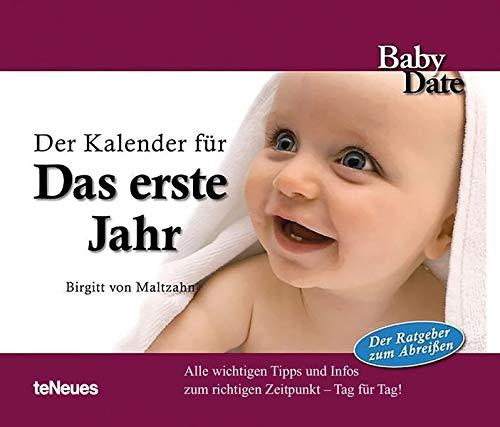 Baby Date Das erste Jahr - Immerwährender...