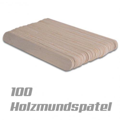 100 Stk. Holzmundspatel Birkenholz Holzspatel Holz...