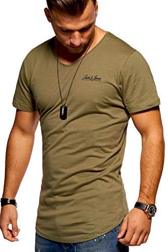 JACK & JONES Herren T-Shirt Kurzarmshirt Oversize...