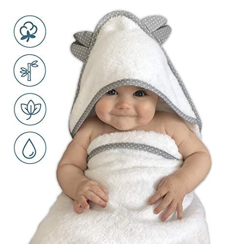VABY – Babyhandtuch mit Kapuze, OEKO-TEX, aus...