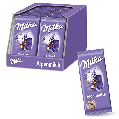 Milka Alpenmilch 32 x 40g Kleintafel,...