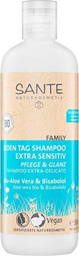 SANTE Naturkosmetik Jeden Tag Shampoo Bio-Aloe...