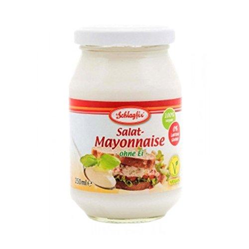 Schlagfix Salat-Mayonnaise ohne Ei, 250 ml