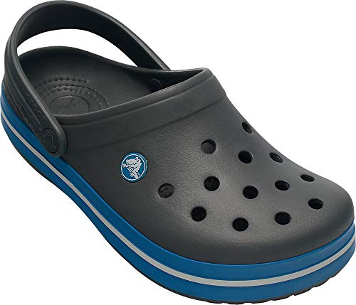 Crocs Unisex-Erwachsene Crocband Clogs, Grau...