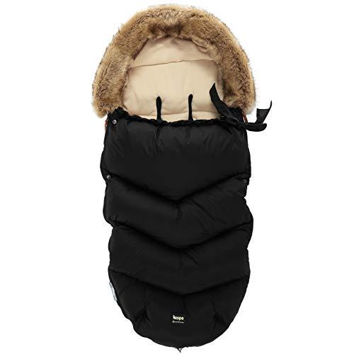 ZOPA Luxus Winter Fusak FLUFFY mit Fell -...