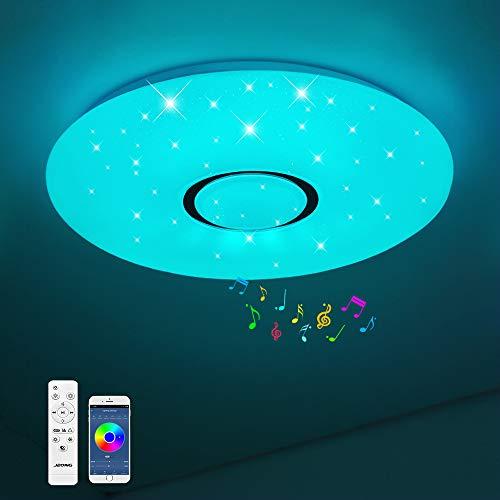 Bluetooth Deckenleuchte JDONG 18W Ø 30CM LED...