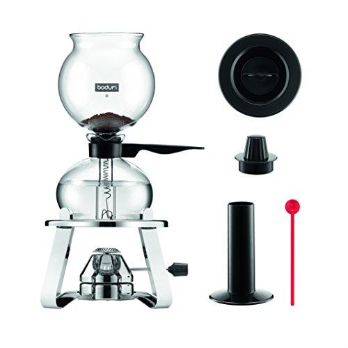 Bodum Kaffeebereiter, Glas, schwarz, 30 x 36.8 x...