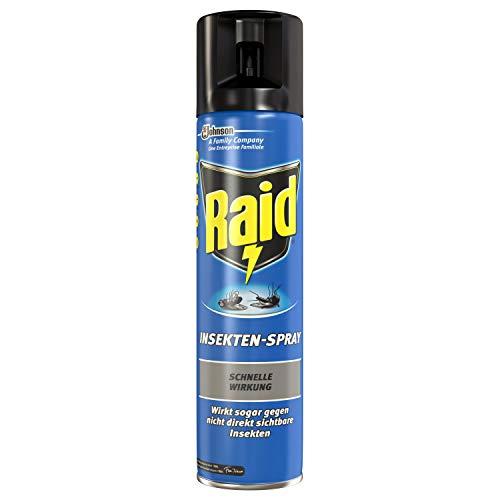 Raid Paral Insekten-Spray, Fliegenspray 4er Pack...
