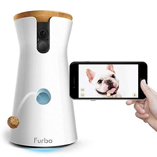 Furbo HUNDEKAMERA: Full HD WiFi Haustierkamera mit...