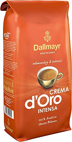 Dallmayr Kaffee Crema d'oro Intensa Kaffeebohnen,...