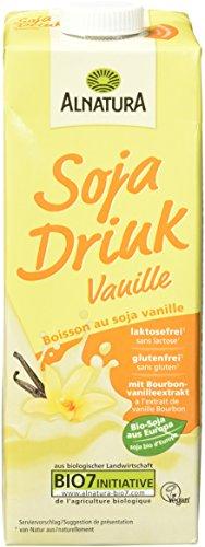 Alnatura Bio Sojadrink Vanille, glutenfrei,...