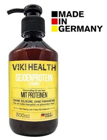 VIKI HEALTH Haarkur Protein Shampoo ohne Silikone,...