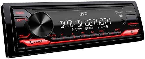 JVC KD-X272DBT USB-Autoradio mit DAB+ und...