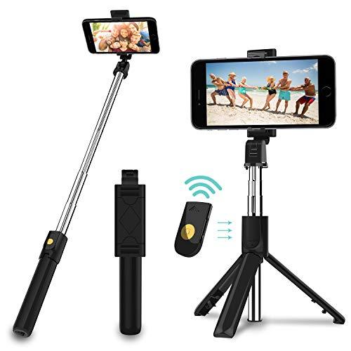 SYOSIN Selfie Stick Stativ, 3 in 1 Mini...