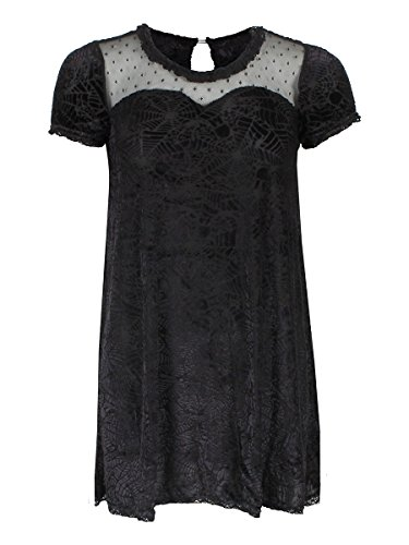 Iron Fist Cave Creeps Sweetheart Dress - Black...