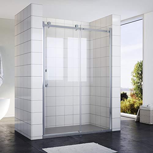 SONNI Duschabtrennung/Duschtüren 140x195cm...