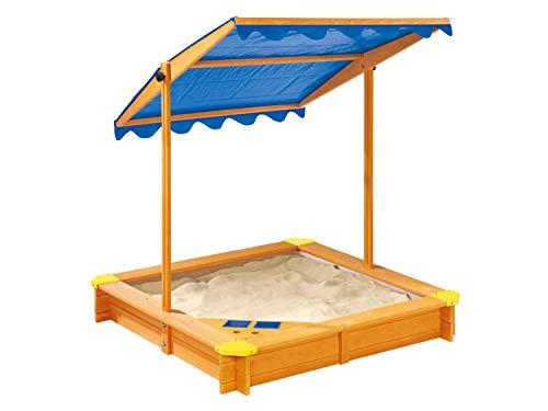 pro-manufactur Sandkasten mit Dach und Spielecke...