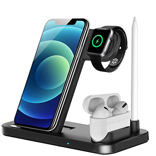 LECHLY Wireless Charger, 4 in 1 Induktive...