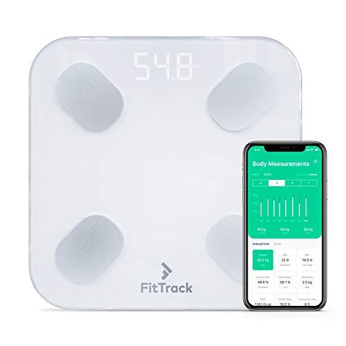 FitTrack Dara Digitale BIA-Körperanalysewaage...