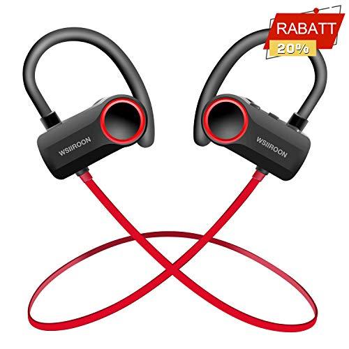 wsiiroon Bluetooth Kopfhörer in ear V4.2,...