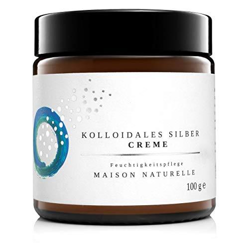 MAISON NATURELLE ® - Kolloidales Silber Creme...