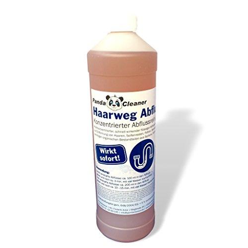 PANDACLEANER Haar-Weg Abflussreiniger - Entfernt...