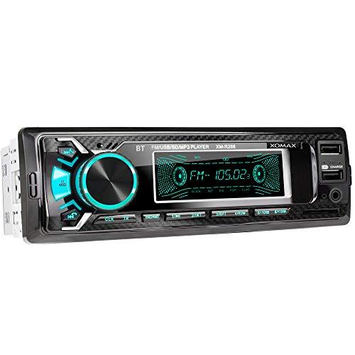 XOMAX XM-R266 Autoradio mit Bluetooth...