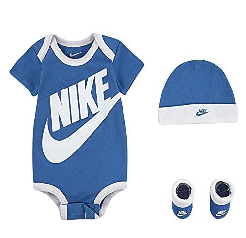 Nike Baby Jungen Boys Set Bodysuit Cap Socken...