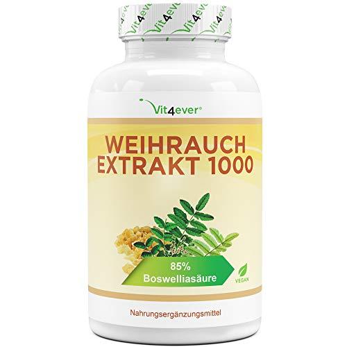 Weihrauch Extrakt - 365 Kapseln - Premium: 85%...