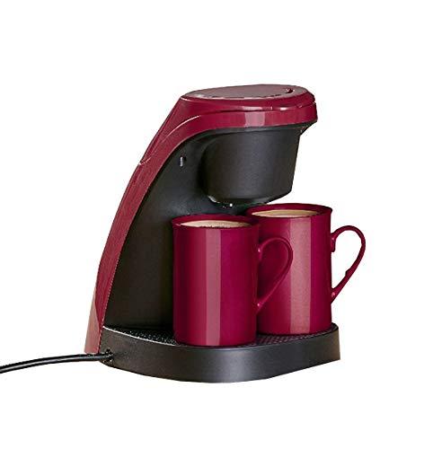 Mini Filter Kaffeemaschine + 2 Porzellan Tassen...