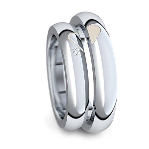 Verlobungsringe Paar Silber 925 Freundschaftsringe...
