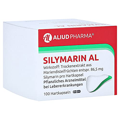 Silymarin AL Hartkapseln, 100 St