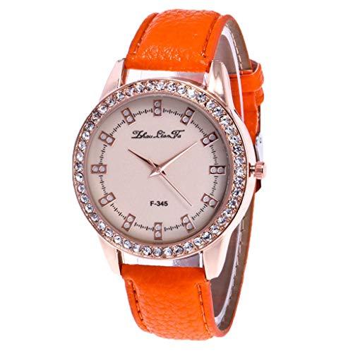 Veyikdg Damen-Armbanduhr, modisch, Strasssteine,...