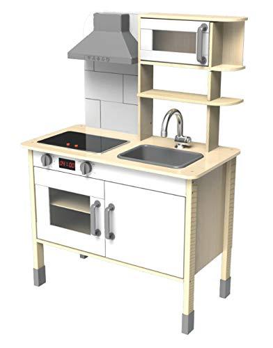 Eichhorn 100002494 - Spielküche aus Holz, Herd...