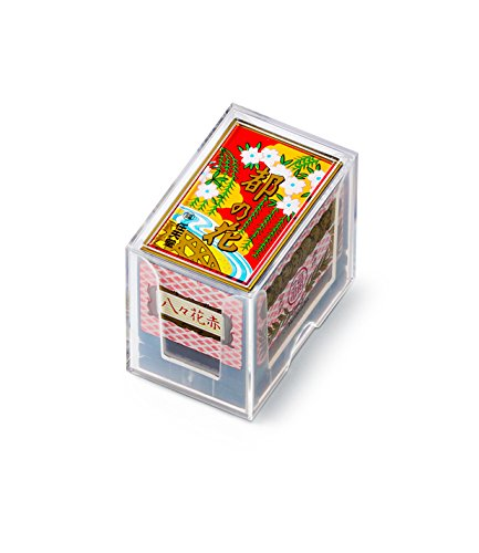 Red flower of Nintendo playing cards capital...