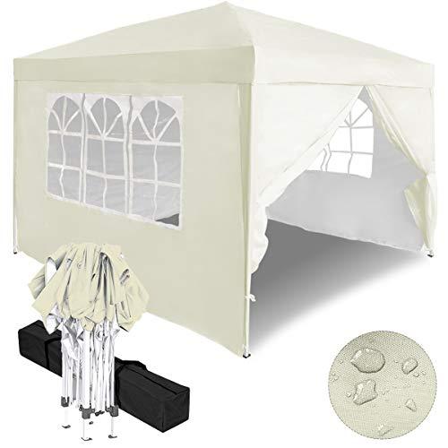 Aufun Faltpavillon Faltzelt 3x3m UV-Schutz -...