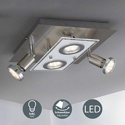 LED Deckenleuchte I Deckenlampe inkl. 4 x 3W 250lm...