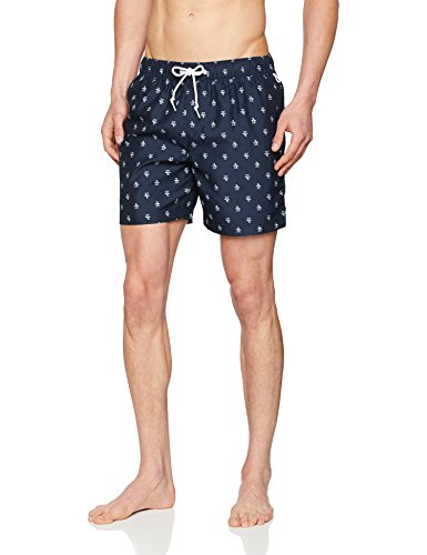 Original Penguin Herren Shorts, Blue (Dark...
