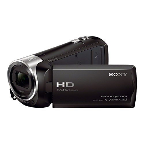 Sony HDR-CX240E HD Flash Camcorder (Full HD, EXMOR...