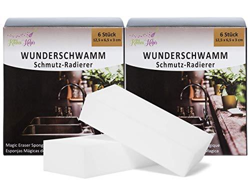 Kitchen Helpis® Wunderschwamm 12er Set, 12...
