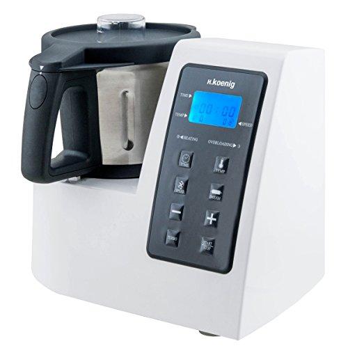 H.Koenig HKM1028 Küchenmaschine mit Kochfunktion...