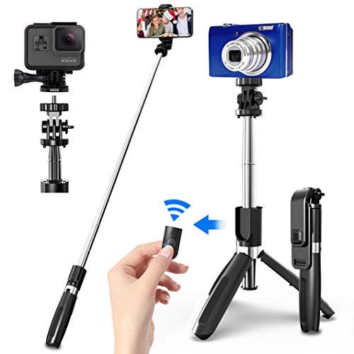 SYOSIN Selfie Stick mit Handy und Kamera Stativ...