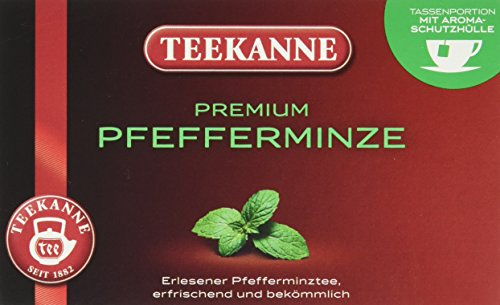Teekanne Premium Pfefferminze 20 Beutel (1 x 45 g)
