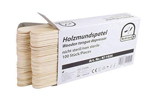 Holzspatel Mundspatel Spatel Bastelspatel von...