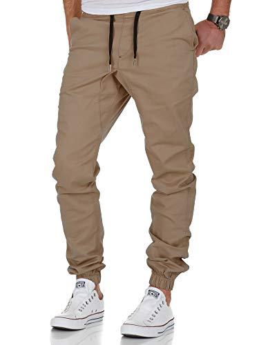 Amaci&Sons Herren Stretch Jogger Basic Chino Jeans...
