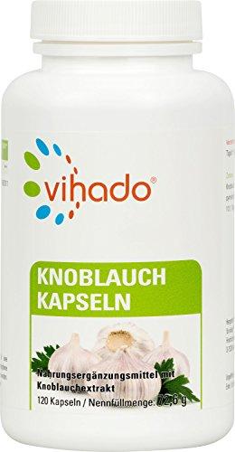 Vihado Knoblauch Kapseln hochdosiert, vegan + fast...