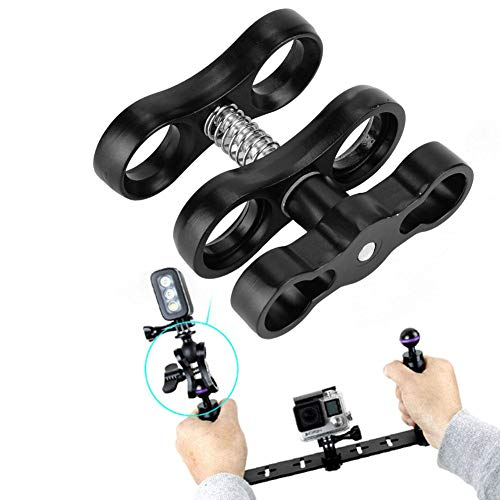 Tbest Tauchlampen Ball Butterfly Clip Arm Clamp...