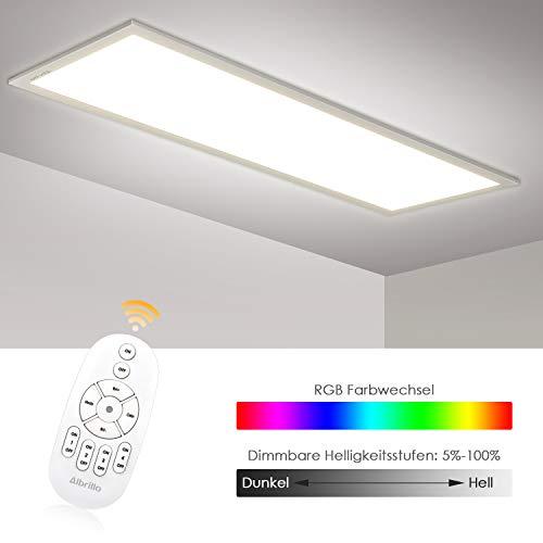 Albrillo RGB LED Panel 120x30cm - 40W Dimmbar...