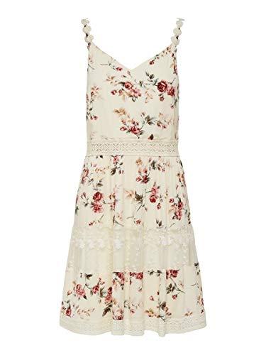 ONLY Damen Onlkarmen Anne S/L Short Dress Wvn Noos...